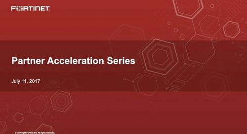 Partner Acceleration Series Webcast - July 2017