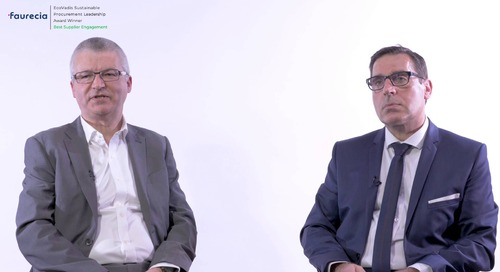 Faurecia Talks About Their Commitments to Sustainable Mobility