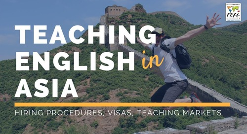 Teaching English in Asia 2019 [Webcast]