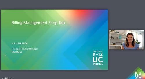 Shop Talk: Billing Management