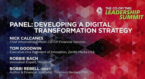 Digital Transformation Panel - CO-OP Leadership Summit