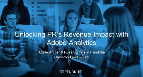 Unlocking PR's Revenue Impact with Adobe Analytics