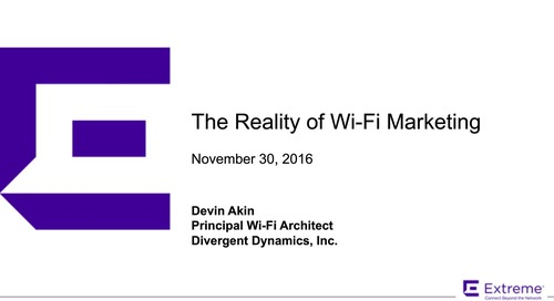 The Reality of Wi-Fi Marketing