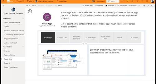 Demystifying the Microsoft Power Platform