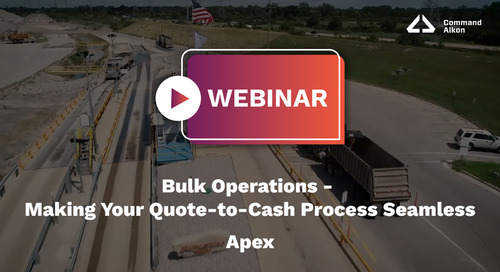 Apex Webinar | Bulk Operations: Making Your Quote-to-Cash Process Seamless