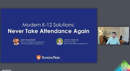 Never Take Attendance Again