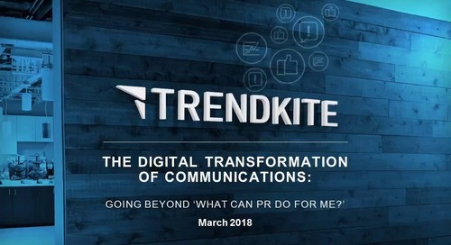 The Digital Transformation of Communications