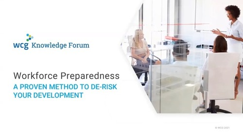 Workforce preparedness