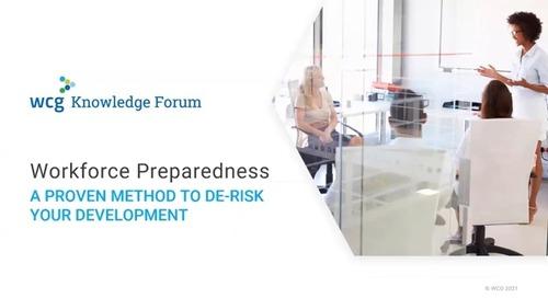 Workforce Preparedness: A Proven Method to De-Risk Your Development