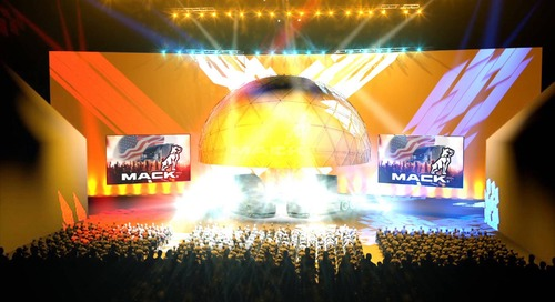 MACK Truck Reveal Master 3D Motion Walk-through