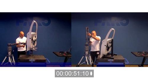 Vídeo do teste de velocidade de 8-Axis