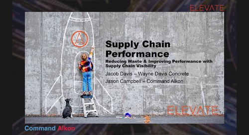 ELEVATE Conference Breakout Session 'Supply Chain Performance'