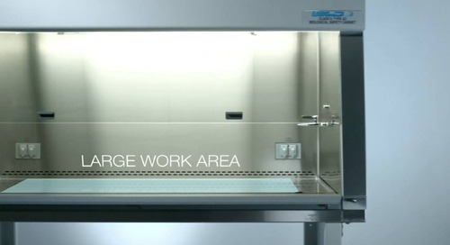 [Video] LabGard Biosafety Cabinet Ergonomics