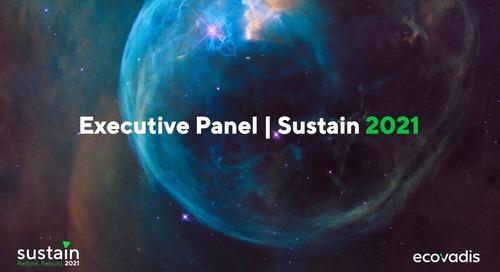 #Sustain2021  Panel exécutif Directeurs Achats