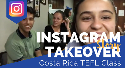 Day in the Life of our Costa Rica TEFL Class with Gabriela Merlo