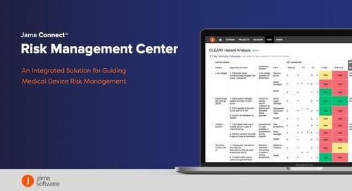 Jama Connect™ Risk Management Center