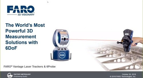 World's most powerful 3D measurement solutions with 6DoF