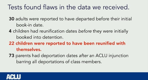 R at the ACLU: Joining tables to to reunite families - Brooke Watson
