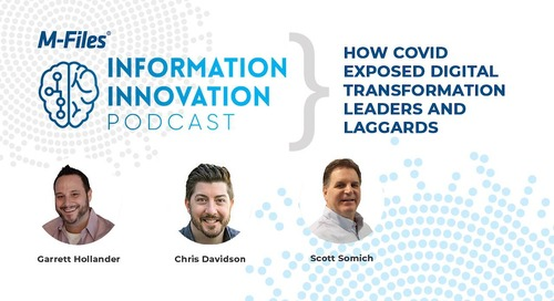 How COVID Exposed Digital Transformation Leaders and Laggards