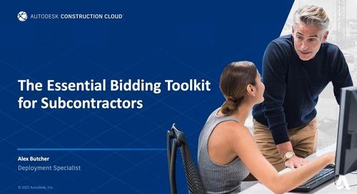 Essential Bidding Toolkit for Subcontractors