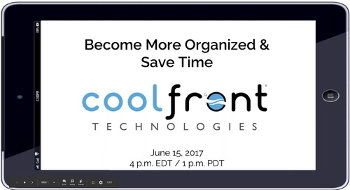 Become More Organized and Save Time - Webinar