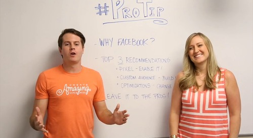 ProTip: 3 Things You Need to Know About Facebook Advertising