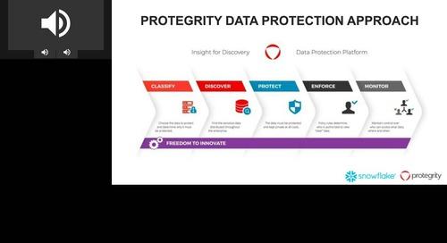 Renforcer la protection des données dans le cloud avec Snowflake & Protegrity