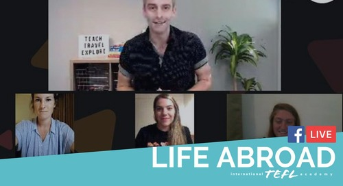 Life Abroad in Japan, China, & Thailand - TEFL Ambassador Facebook Live