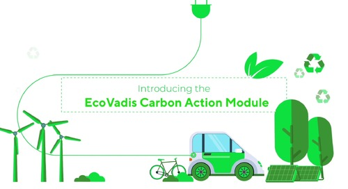 EcoVadis' New Carbon Action Module Will Help Tackle Climate Change and Drive Significant, Long-term Emissions Reductions