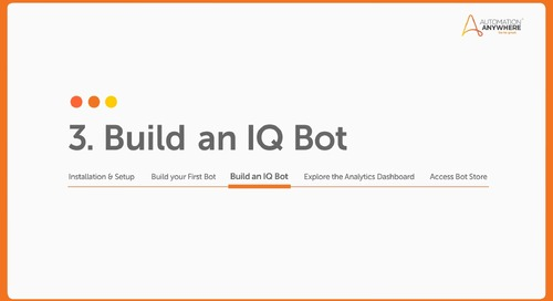 How to Build an IQ Bot in Automation Anywhere Community Edition