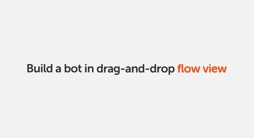 Automation Anywhere Community Edition | Build a Bot Using the Flow View