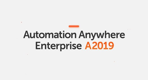 Relive the Automation Anywhere A2019 Launch Event from NYC