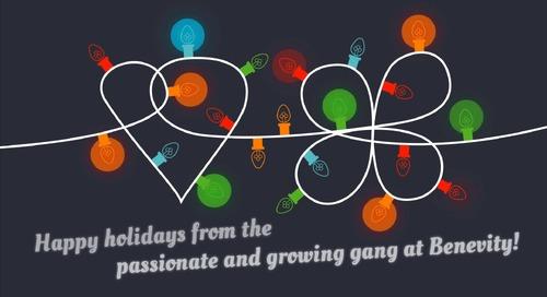 Happy Holidays from Benevity