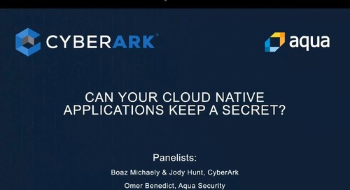 Can Your Cloud Native Applications Keep a Secret?