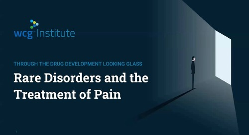 Through the Drug Development Looking Glass: Rare Disorders and the Treatment of Pain
