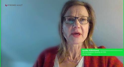 Viking Malt Talks About Their Third Party Certifications - Annika Wilhelmson