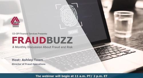 FraudBuzz Webinar - April 2020