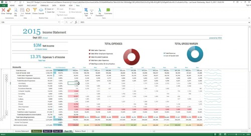 2017-03-15 14.00 Better Enterprise Budgeting with Microsoft Excel®