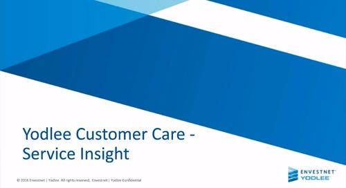 Customer Care: Service Insight