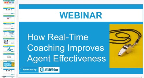 How Real-Time Coaching Improves Agent Effectiveness featuring Call Center Helper