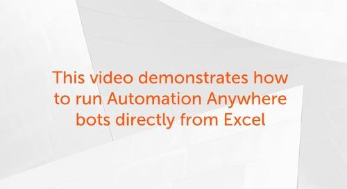Enterprise 11.x Use Cases - Excel Plugin - Imagine Video