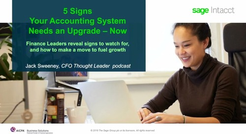 5 Signs Your Accounting System Needs an Upgrade - Now!