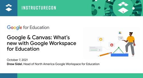 Google & Canvas What's New with Google Workspace