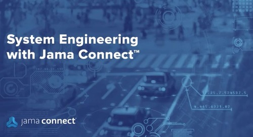 Systems Engineering with Jama Connect