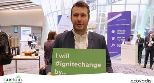 #Sustain2019 Témoignages #IgniteChange Jour 2