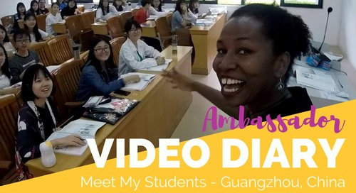Teaching English in Guangzhou, China: My Students - TEFL Ambassador