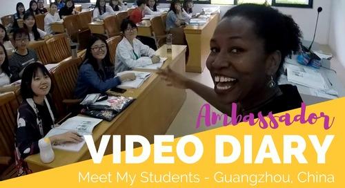 Teaching English in Guangzhou, China: My Students - TEFL Ambassador
