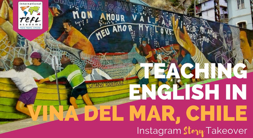 Day in the Life Teaching English in Vina Del Mar, Chile with Scott Mistler-Ferguson
