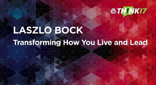 THINK 17 - Laszlo Bock