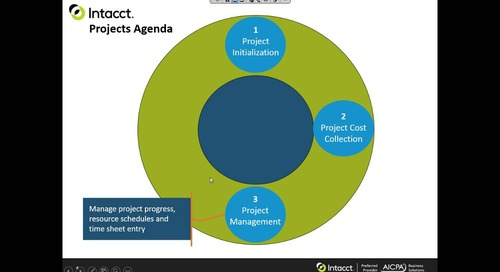 Sage Intacct Product Tour for Project Accounting